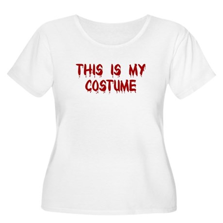 This is my Costume Women's Plus Size Scoop Neck T-