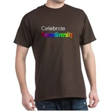 Celebrate Neurodiversity 2 T-Shirt