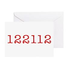 122112 Greeting Card