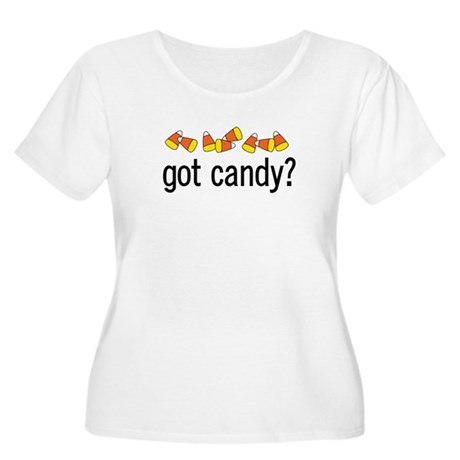 Got Candy? Women's Plus Size Scoop Neck T-Shirt