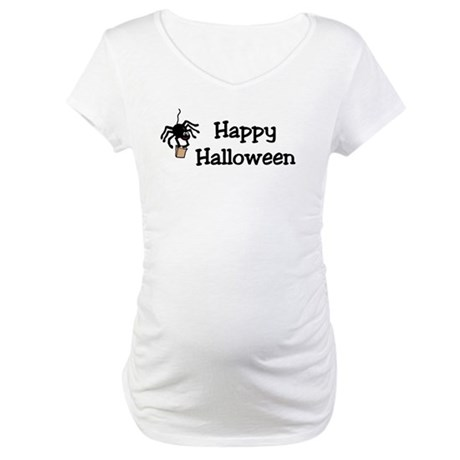 Happy Halloween Maternity T-Shirt