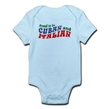 Cuban Italian Infant Bodysuit