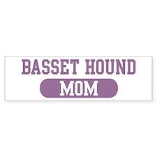 Basset Hound Mom Bumper Bumper Sticker