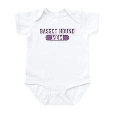 Basset Hound Mom Infant Bodysuit