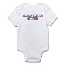 Alaskan Klee Kai Mom Infant Bodysuit