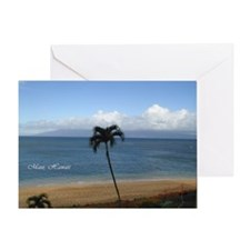 Maui, Hawaii Greeting Card