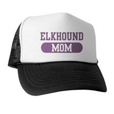 Elkhound Mom Trucker Hat