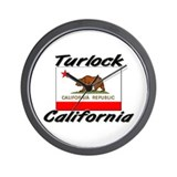 Turlock California Wall Clock