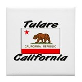 Tulare California Tile Coaster