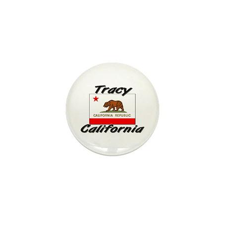 Tracy California Mini Button