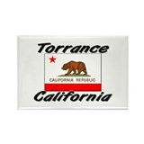 Torrance California Rectangle Magnet