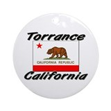 Torrance California Ornament (Round)