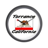 Torrance California Wall Clock