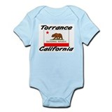 Torrance California Infant Bodysuit