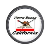 Tierra Buena California Wall Clock