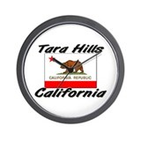 Tara Hills California Wall Clock
