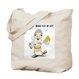 Clinton Toga Party Tote Bag