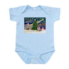 Xmas Magic & Pug Infant Bodysuit