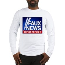 FAUX NEWS Long Sleeve T-Shirt