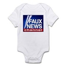 FAUX NEWS Infant Bodysuit