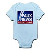 FAUX NEWS Onesie