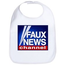 FAUX NEWS Bib