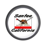 Santee California Wall Clock