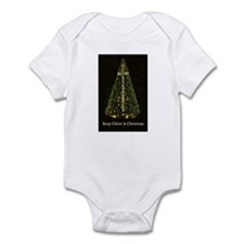 KEEP CHRIST IN CHRISTMAS Infant Bodysuit