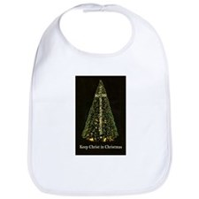 KEEP CHRIST IN CHRISTMAS Bib