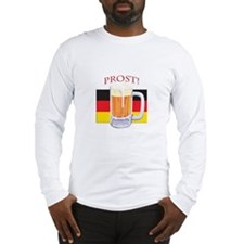 German Beer Prost Long Sleeve T-Shirt