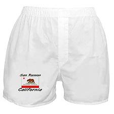 San Ramon California Boxer Shorts