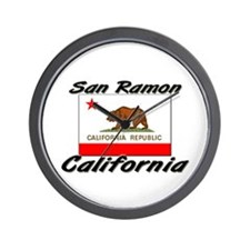 San Ramon California Wall Clock