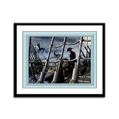 Sailor's Dilemma 12x9 Framed Print
