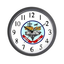 USS Coral Sea (CVA 43) Wall Clock