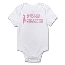 Team Jeanie - bc awareness Infant Bodysuit