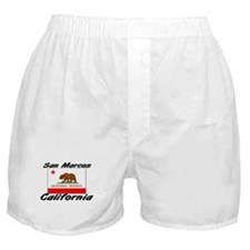 San Marcos California Boxer Shorts