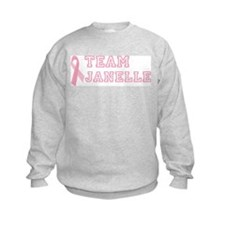 Team Janelle - bc awareness Sweatshirt