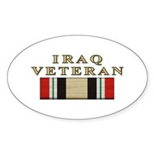 Iraq Vet Oval Decal