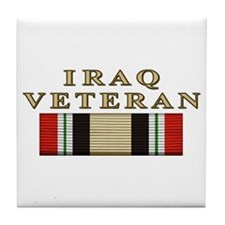 Iraq Vet Tile Coaster
