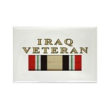 Iraq Vet Rectangle Magnet (100 pack)