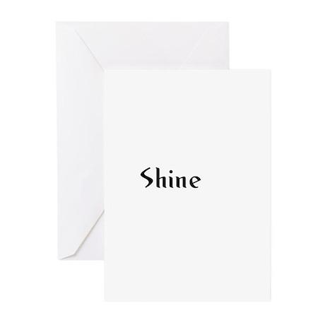 Shine Greeting Cards (Pk of 10)