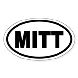 Mitt Romney '08 Oval Decal