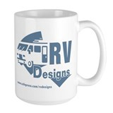 Large RV designs Logo Mug
