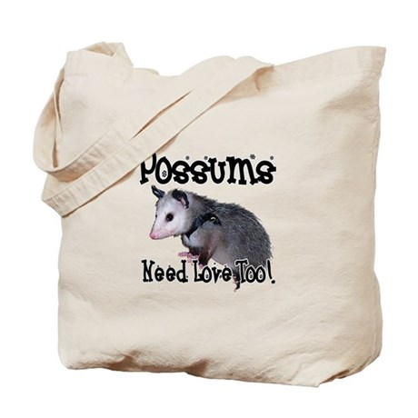 Possums Need Love Tote Bag
