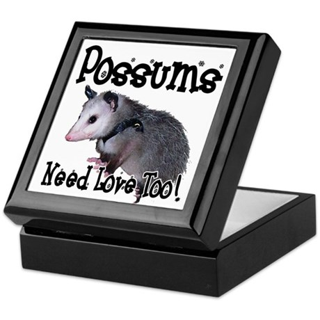 Possums Need Love Keepsake Box