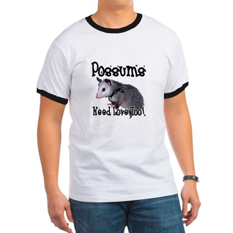Possums Need Love Ringer T