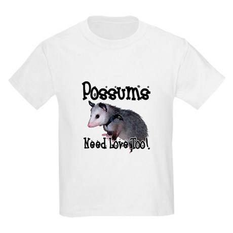 Possums Need Love Kids Light T-Shirt