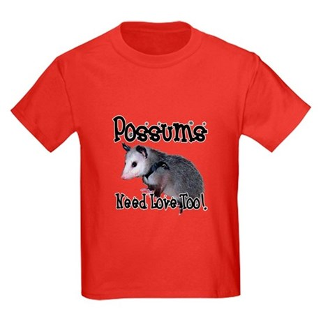 Possums Need Love Kids Dark T-Shirt