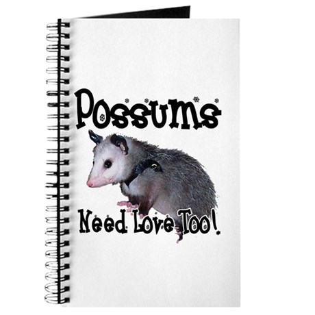 Possums Need Love Journal