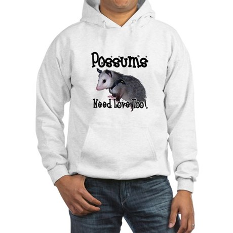 Possums Need Love Hooded Sweatshirt